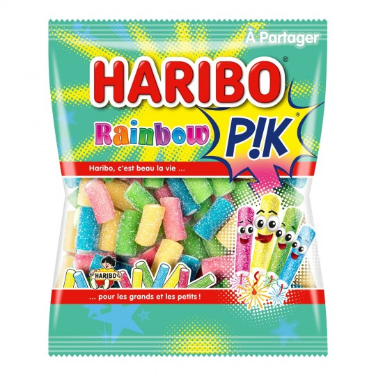 Caramelos Haribo Rainbow Pik