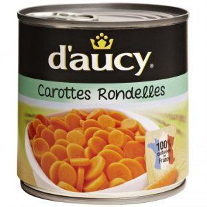 Carottes En Rondelles D'Aucy - My French Grocery