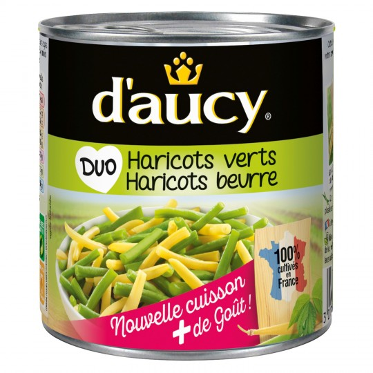 Duo Haricots Verts & Beurre D'Aucy - My French Grocery