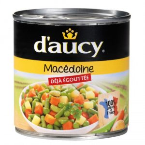Mixed Vegetables D'Aucy