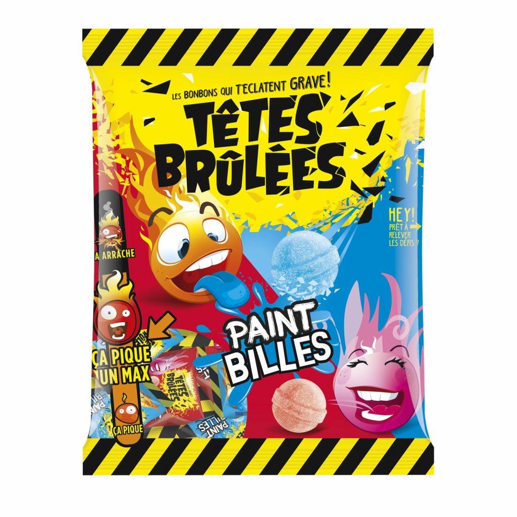 Candies Têtes Brulées Paint Billes