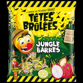 Bonbons Têtes Brulées Jungle Barres