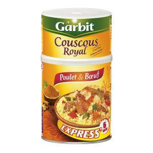 Couscous Royal Poulet & Boeuf Garbit