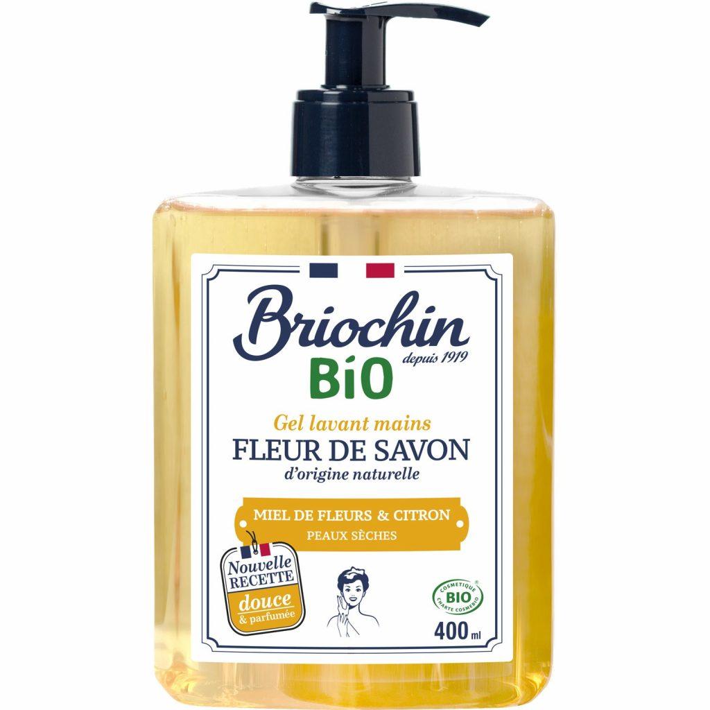 Savon Liquide Miel & Citron Briochin