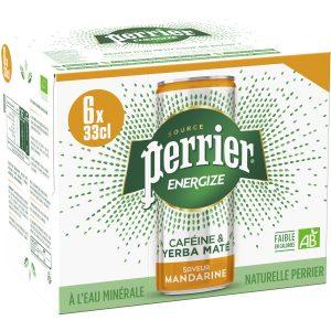 Bebida Energética De Mandarina Perrier Energize
