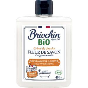 Gel Douche Fleur D'oranger & Menthe Bio Briochin