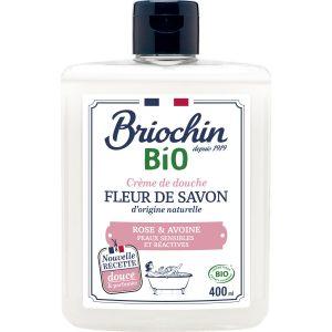 Gel Douche Rose & Avoine Bio Briochin