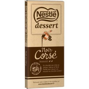 Chocolat Noir Corsé Dessert Nestlé