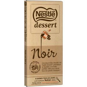 Chocolat Noir Dessert Nestlé