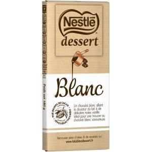 Chocolat Blanc Dessert Nestlé