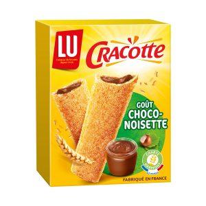 Barres Chocolat-Noisettes Cracotte Lu