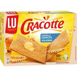 Biscottes Céréales Complètes Cracotte Lu