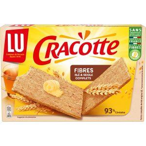 Biscottes Fibres Cracotte Lu