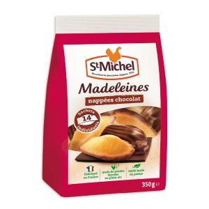 Magdalenas Bañadas En Chocolate Saint Michel