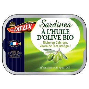 Sardines à L'Huile D'olive Les Dieux