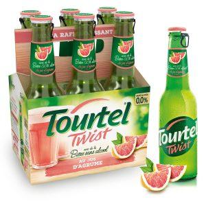 Cerveza Sin Alcohol Sabor A Cítricos Tourtel Twist