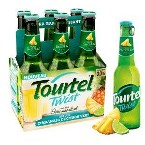 Cerveza Sin Alcohol Sabor Piña Tourtel Twist