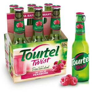 Cerveza Sin Alcohol Sabor A Frambuesa Tourtel Twist