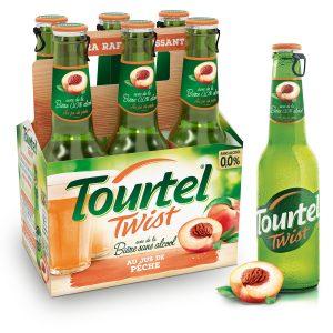 Cerveza Sin Alcohol Sabor A Melocotón Tourtel Twist