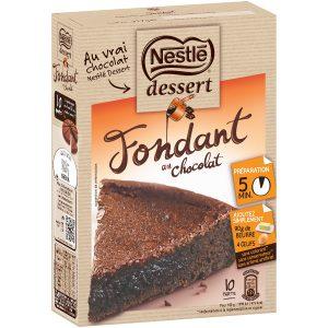 Préparation Pour Gâteau Fondant Au Chocolat Nestlé Dessert